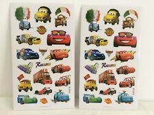 5 sheets Disney Lightning McQueen Cars stickers party favours bag fillers B
