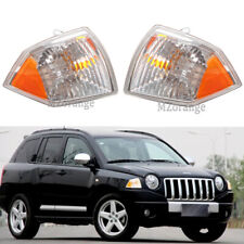 Pair Front Corner Light for Jeep Compass 2007 08 09 2010 Side Marker Turn Signal