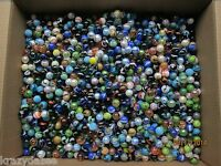 "MARBLES SPECIAL COLLECTION 5/8"" FANCY MIX MARBLES 2 POUNDS PLUS FREE SHIPPING"