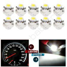 For Car White B8.4D 5050 SMD 1-LED Dashboard Indicator Light Bulb 10pcs Internal