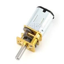 N20 Gear Motor Small Micro Reduction Geared Box Electric Motor 6V DC 100RPM DIY