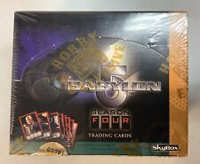Babylon 5 Season Four Trading Cards Signed Cards by B5 Crew Skybox Sealed Box