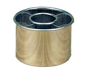 Harold Import Company Ateco 2-1/2-Inch Stainless Steel Doughnut Cutter