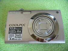 NIKON COOLPIX S4000 12.0 MEGA PIXELS DIGITAL CAMERA SILVER