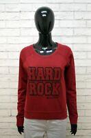 Hard ROCK Maglione Felpa Donna Taglia L Maglia Pullover Sweater Cardigan Cotone