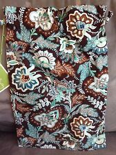 VERA BRADLEY JAVA BLUE DRAWSTRING TRAVEL POUCH - RARE - BRAND NEW WITH TAGS