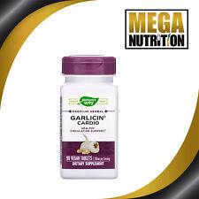Natures Way Garlicin Cardio Odor Free 90 Tablets Support Cardiovascular Health