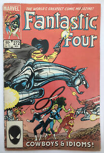Fantastic Four #272 - 1st Nathaniel Richards - Marvel Comics