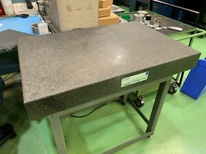 Granite Surface Plate 900mm x 600mm used