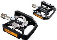 Shimano PD-T8000 MTB Multi-Purpose Flat/Clip-in Deore XT SPD Pedals T780