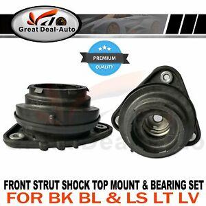2 Front Strut Mount Bearing for Mazda 3 BK BL 04-14 for Focus LS LT LV 05-11