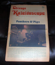 Chicago KALEIDOSCOPE Vol 1 #12 April 25 1969 Newspaper 2 Sections Lenny Kaye