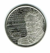 2013 Canadian Brilliant Uncirculated Commemorative De Salabery 25 Cent coin!