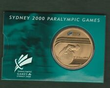 2000 - Paralympic Games   $5 Uncirculated Coin                     .... w1
