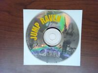 Jump Raven PC Game MPC Compatible CD-ROM CyberFlix - Disc Only - 1993