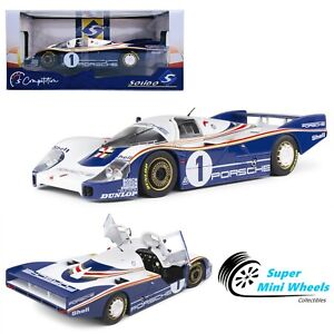 Solido 1:18 - Porsche 956LH - Winner of 24 Hours of Le Mans 1982 ICKX Bell #1