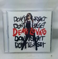 Demi Lovato - Don't Forget (CD, 2008, Hollywood)