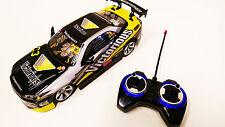 Réplica de venta rápido y furioso Neón Nissan Skyline RC coche de carreras 4WD Drift Stunt
