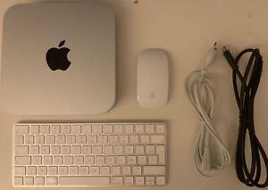 Apple Mac Mini 2014 / i5 2,6 Ghz / 8 Go / SSD 500 Go / macOS 11 / Clavier Souris