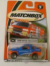 Matchbox - Land Rover Freelander (Team Tundra) - Sealed - Light Wear