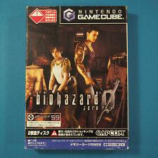 Biohazzard Zero (Nintendo Gamecube GCN, 2002) Japan Import