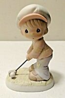 1994 PRECIOUS MOMENTS 532096 Lord Help Me To Stay On Course Porcelain Figurine