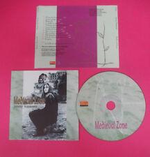 CD MEDIEVAL ZONE Jenny Sorrenti 2001 Italy CELTICA CN001 no lp dvd vhs (XI4)