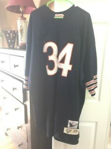 WALTER PAYTON MITCHELL & NESS AUTHENTIC THROWBACK JERSEY