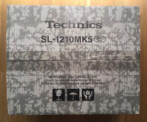 Technics SL-1210 MK5, schwarz, NEU, Original Verpackt,