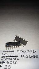 MOTOROLA MC6889L 16-Pin Ceramic Dip IC Vintage Parts New Lot Quantity-2