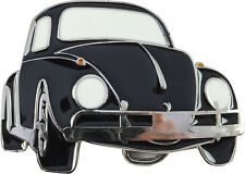 Retro Belt Buckle- Beetle Black