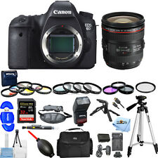 Canon EOS 6D with EF 24-70mm F4L IS USM Lens!! MEGA BUNDLE BRAND NEW!!