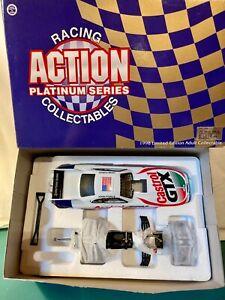 John Force 1998 Mustang Castrol Funny Car Action Platinum Series 1:24 Die Cast