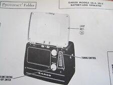 GAROD 5D-4 & 5D-5 RADIO PHOTOFACT