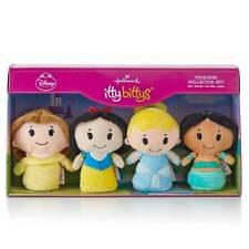 Princess Collector Set~Hallmark Itty Bittys~Disney~Belle~Cinde rella~Snow~Mib