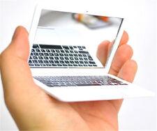 New Mini Silver Pocket Laptop Clear Glass Women Cosmetic Beauty Mirror