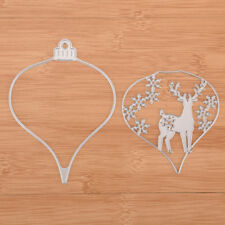 The deer lantern Metal DIY Cut Die Stencil Scrapbook Album Paper Card Emboss ZS