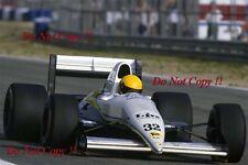 Enrico Bertaggia Coloni C3 Spanish Grand Prix 1989 Photograph 1