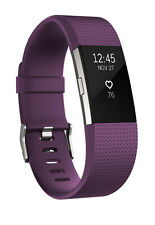 Fitbit Charge 2 HR - Plum Silver (large)