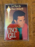 Let There Be Peace On Earth Vince Gill Cassette