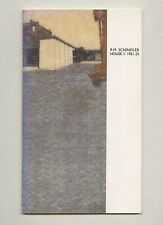 1987 Commemorative R. M. SCHINDLER Friends of the Kings Road House 1921–22 Book