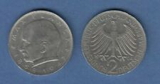 Bundesrepublik Kursmünze 2 Mark Max Planck 1964 J