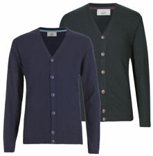 Marks and Spencer Patternless Button-Front Cardigans Jumpers & Cardigans for Men