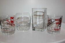 4x verschiedene Whiskey-Gläser 1x Chivas, 1x Johnnie Walker, 2x Ballantines,etc.
