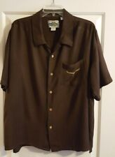 VINTAGE Cumberland Outfitters Men Western Shirt RAYON SIZE XL