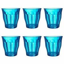 Set di bicchieri in vetro blu