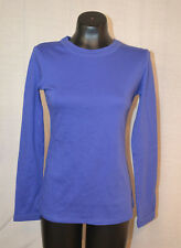 Central Park West Women's Long Sleeve T-Shirt-PURPLE-Small-NWT