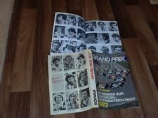 GRAND PRIX 1977 - Ulrich Schwab /NIKI LAUDA/JAMES HUNT/JODY SCHECKTER/H.J. STUCK