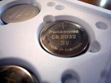 CR2032, Panasonic, New, old stock,button batt, Lot of 100s, minimum voltage 3.1v