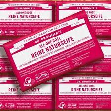 Dr. Bronner's Magic Soap Rose 140g Naturkosmetik FairTrade Bio Stückseife vegan
